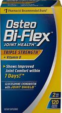 Osteo Bi-Flex Triple Strength w/ Vitamin D 120 Coated Tablets 120 Counts