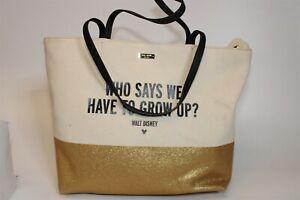 Kate Spade New York x Disney Parks Large Canvas Shopper Shoulder Tote Bag