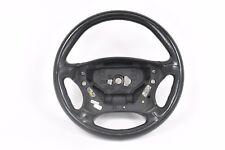 02-05 W203 MERCEDES BENZ C32 AMG LEFT DRIVER SIDE STEERING WHEEL BLACK COLOR