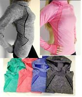 Pro HyperWarm Women's Training Fitness Gym Running Hoodie Top Functional Fabric