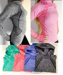 Pro HyperWarm Women's Training Fitness Gym Running Hoodie Top Functional Fabric