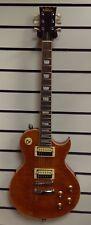 Vintage V100AFD Paradise Flamed Amber Electric Guitar