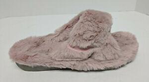 Vionic Indulge Relax Plush Slippers, Blush, Women's 11 M