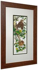 BEV DOOLITTLE 'WSS' Whoo Matted & Framed Fine Art Print