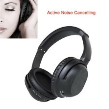 Noise Cancelling Bluetooth Wireless Over-Ear Headphones Stereo Headset with Mic