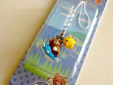 San-x Rilakkuma Kiiroitori Shiga Catfish Gotochi Regional Charm Strap 2006
