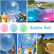 40-120cm Wubble Bubble Ball Firm Water Balloons Inflatable Refillable Stretch AU