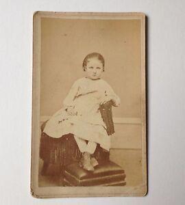 Antique Photo CDV Penn Yan NY ID'd Agnes Masters Dr Mills Photographer