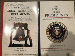 The Book of Great American Documents and The Book of The Presidents Paperbacks f