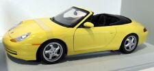 UT Models 1/18 Scale Diecast - 27906 Porsche 996 Cabrio Yellow