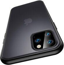 Handy Hülle iPhone 11 Pro Max Case Schutzhülle Transluсent Cover Hard Schutzglas