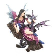 New Fairy Dragon Figurine Mythical Legend Magic Gothic Statue Fantasy Magestic