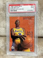 KOBE BRYANT⚡️1996-97 Upper Deck Rookie Exclusives #R10 PSA 9 Mint RC🔥Lakers HOT