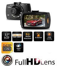 "Latest 1080P HD 2.7"" LCD Car DVR Camera Dash Cam Video Recorder Night Vision UK"