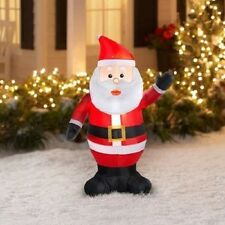 5 foot 1,5 m Santa Airblown Inflatable Outdoor Decoration Lights up 1 Piece