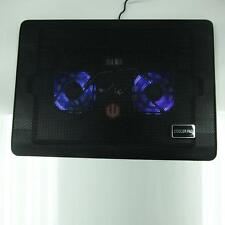 "12""-17"" Laptop Notebook Powerful LED USB 2 Fan Net Air Cooling Cooler Pad Stand"