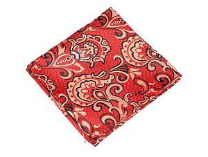 Lord R Colton Masterworks Pocket Square - Pisaq Fire Red Silk - $75 Retail New