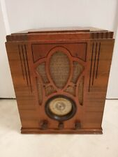Vintage Montgomery Ward Model 62-135 Tombstone Airline Tube Radio Parts/Restore