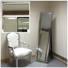 """Chloe Venetian Glass Frame Free Standing Cheval Full Length Mirror 15.5"""" x 59"""""""