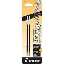 Pilot Dr. Grip Ball-Point Refill, Black (Pilot 77227) - 2/pk