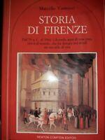 Livre de Marcello Vannucci Storia di Firenze .1986 Signé