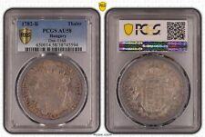 1782-B Hungary Taler PCGS AU58 Dav-1168