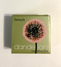 Authentic! Benefit Dandelion Face Powder & Brush Full Size .25 oz New!