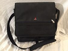 Sony Playstation 2 System Carrying Case Protective Travel Bag w/ Strap PS2 Black