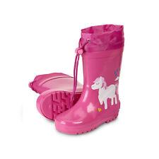 Sterntaler Kinder Mädchen Gummistiefel Regenstiefel Ponny 5652173 Hortensie