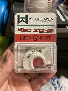 New WoodHaven Custom Calls Red Ghost Diaphragm Turkey Kee Kee Mouth Call WH072