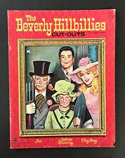 """THE BEVERLY HILLBILLIES"" 1964 WHITMAN UNCUT PAPER DOLLS VINTAGE"