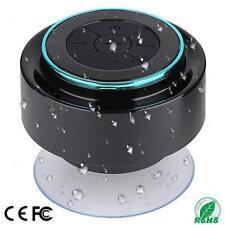 Shower Speaker IPX7 Portable Fully Waterproof Bluetooth With FM Radio Speakers