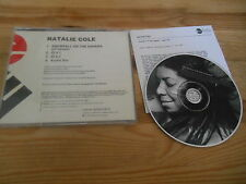 CD Pop Natalie Cole - Snowfall OT Sahara (1 Song) Promo ELEKTRA jc Presskit