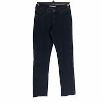 Lee Womens Blue Stretch Dark Wash Perfect Fit Straight Leg Denim Jeans Size 4