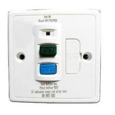 13AMP RCD SPUR 30MA TRIP SWITCH FUSED PROTECTION UNIT