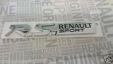 MONOGRAMME RENAULT MEGANE CLIO TWINGO RS SPORT ORIGINAL BADGE LOGO EMBLEME