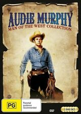 Audie Murphy - Man Of The West  Collection (DVD, 2016, 7-Disc Set)