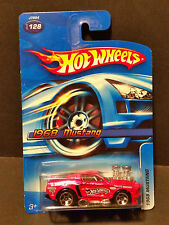 2006 Hot Wheels #128 1968 Mustang - Shaker - Pink - J7994