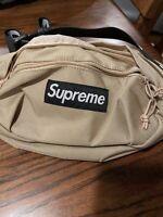 Supreme Beige Waist Bag Shoulder Bag Fanny Pack Unisex