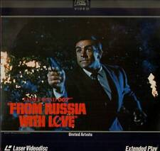 LASERDISC LASER VIDEODISC SEAN CONNERY FROM RUSSIA WITH LOVE EXTENDED PLAY