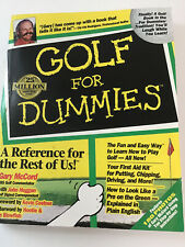 Golf For Dummies, Pre-O