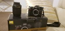 Nikon D7200 18-140 VR Lens Kit shutter count 18.184 shots