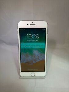 Apple iPhone 8 256GB Silver AT&T Unlocked Good Condition Scratched Rear Cam