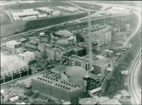 Neckarwestheim nuclear power plant 2 - Vintage photograph 3279106