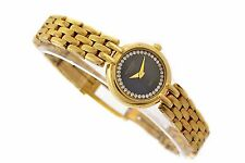 Vintage Raymond Weil 18kt Gold Plated Ladies Quartz Watch 1312