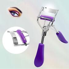 Heiß Nützliche Wimpernzange mit eingebautem Kamm Make-up Curling Tool #DE