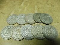 Anlegerposten , Mexico Silber , 10 x Un Peso  , 160 gramm , Investorenpaket