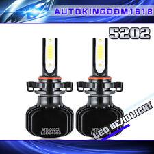 Dual Color White/Yellow 2pcs 5202 H16 COB LED Kit Foglight 3000K 6000K Bulb