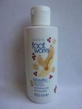 BAIN DE PIEDS baies & vanille 100 ml ** BEAUTIFUL de  FOOT WORKS ** AVON