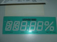 Zeichenschablone LINEX 40 mm Schrifthöhe, kursiv (schräg) 1 - 10